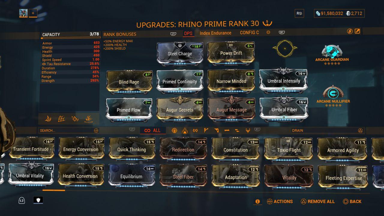 Warframe-Rhino-Prime-DPS-Build