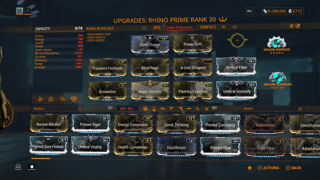 Warframe-Rhino-Prime-Tank-Build