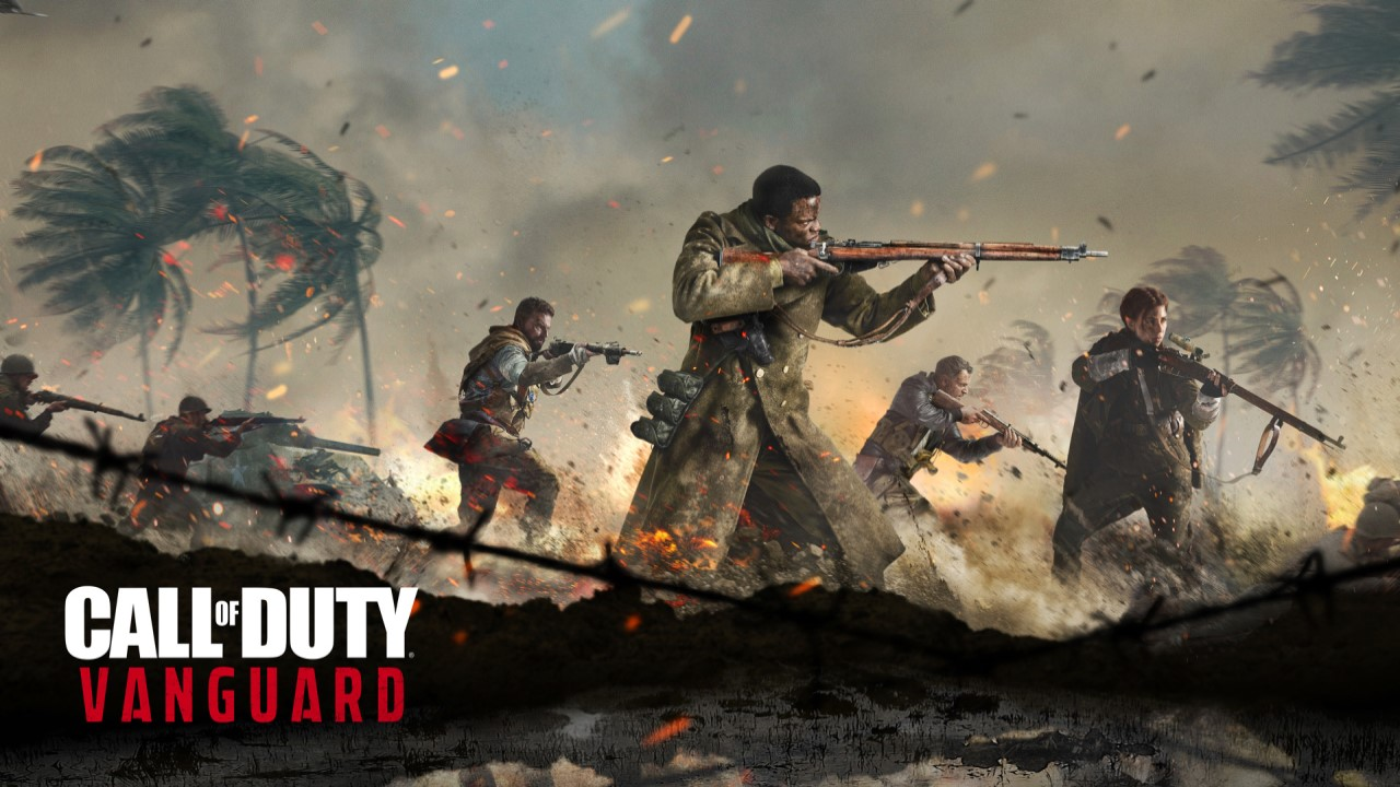 Call of Duty: Vanguard Trailer Cover.