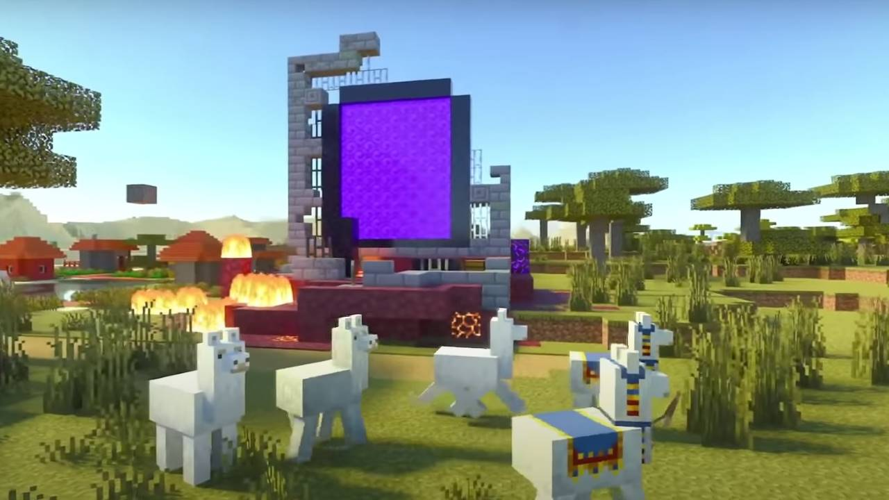 portal-village-minecraft
