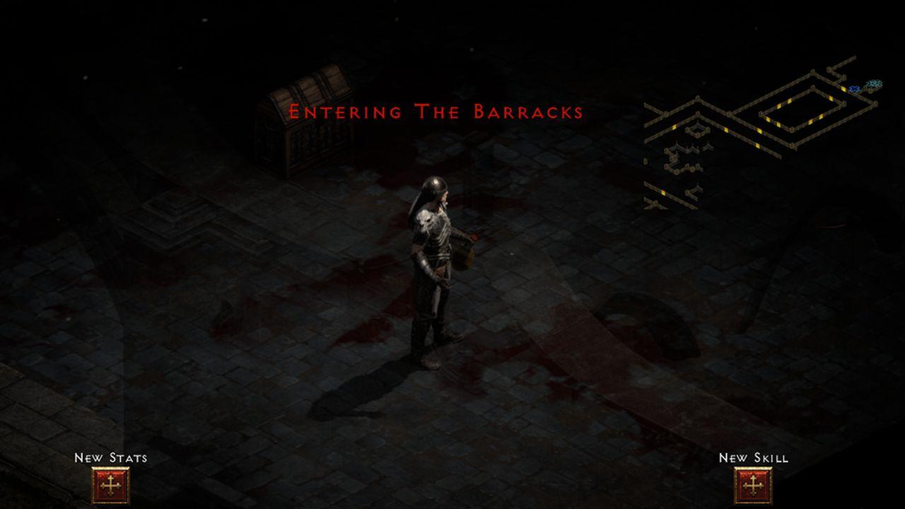 The Barracks in Diablo 2 Resurected