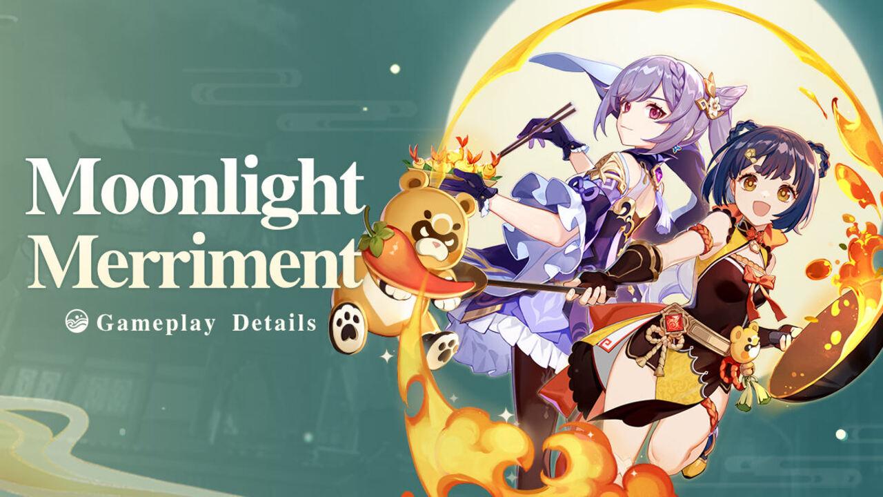 Genshin Impact Moonlight Merriment Event