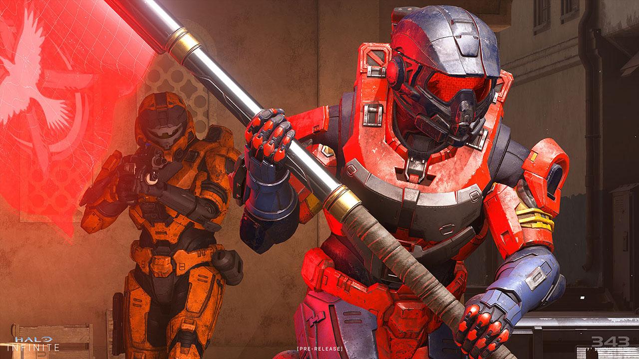 Halo Infinite Multiplayer Flag