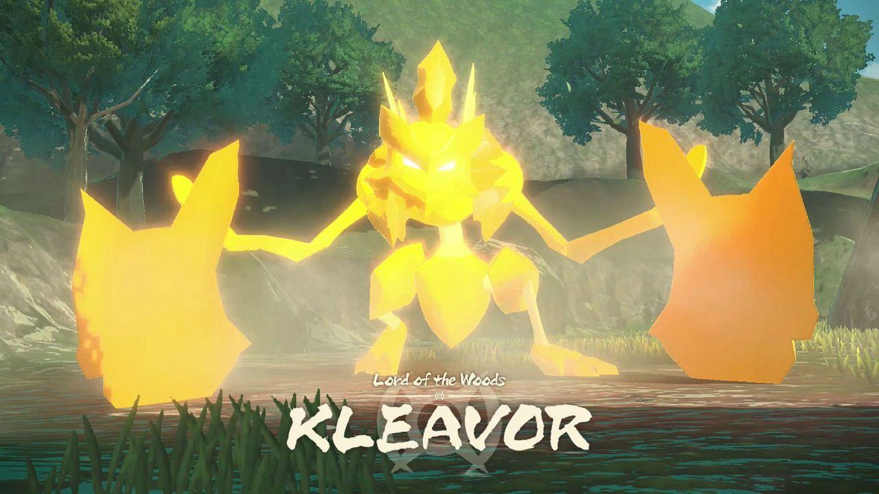 Noble Pokémon Kleavor in Pokémon Legends: Arceus