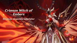 La Signora Crimson Witch
