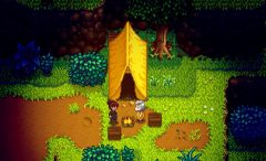 Linus Tent Stardew Valley