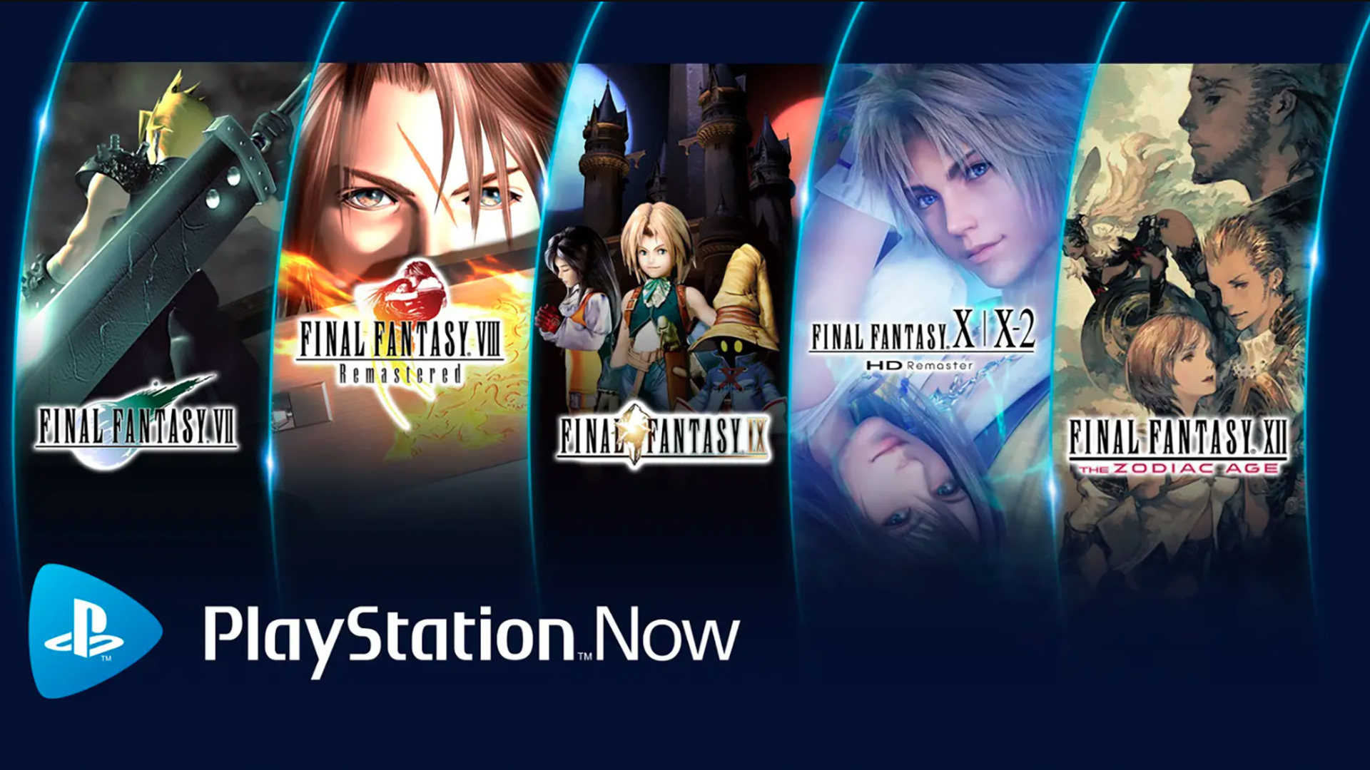 PlayStation Now Gets 5 New Final Fantasy Games