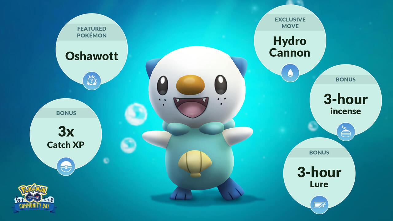 Pokemon Go Oshawott Community Hour
