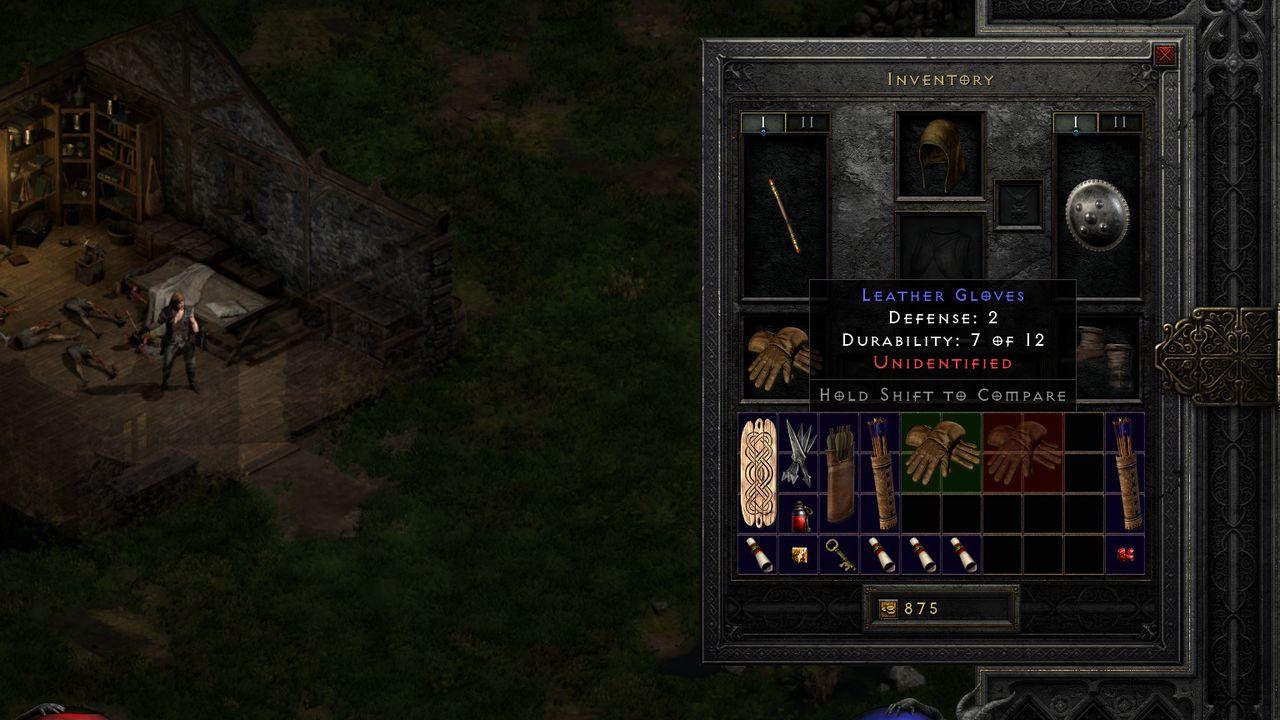 Unidentified item in Diablo 2: Resurrected