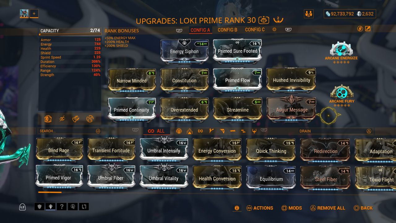 Warframe-Loki-Build