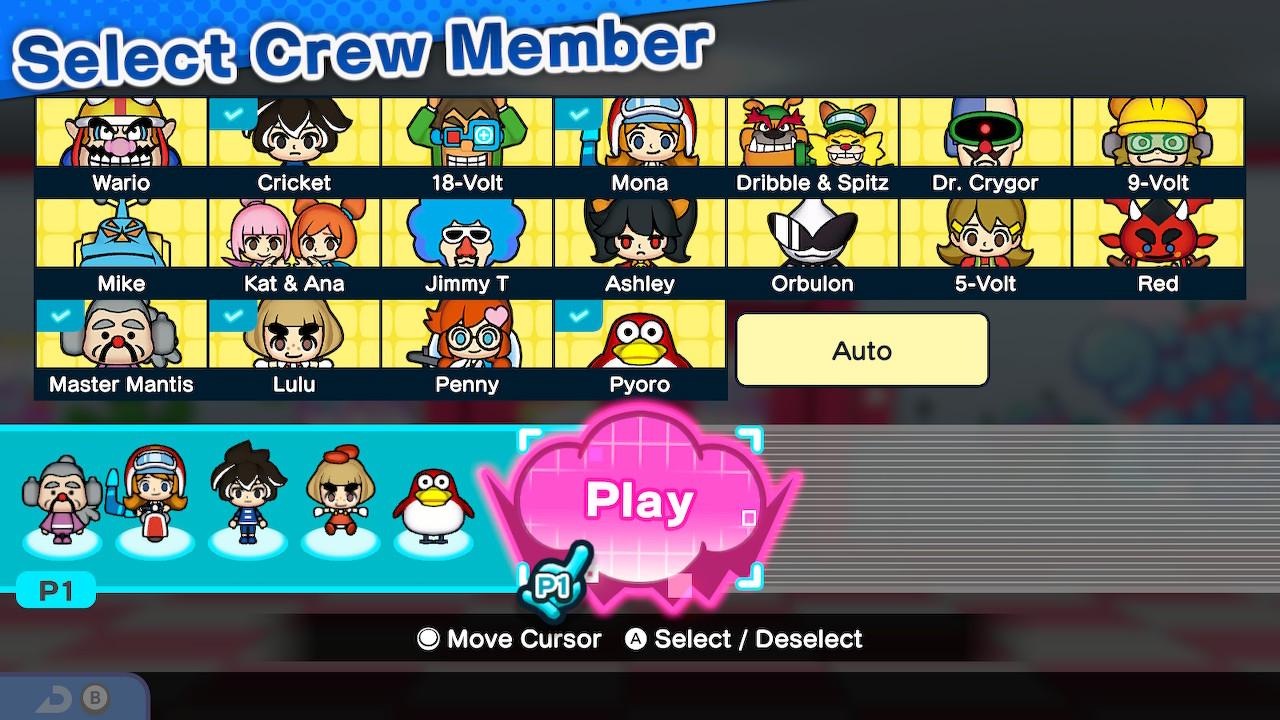 WarioWare: Get it Together! Crew Member Tier List | Attack of the Fanboy