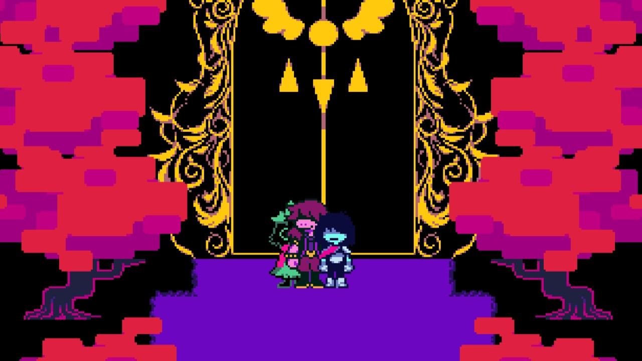 Deltarune Chapter 2 xbox cover