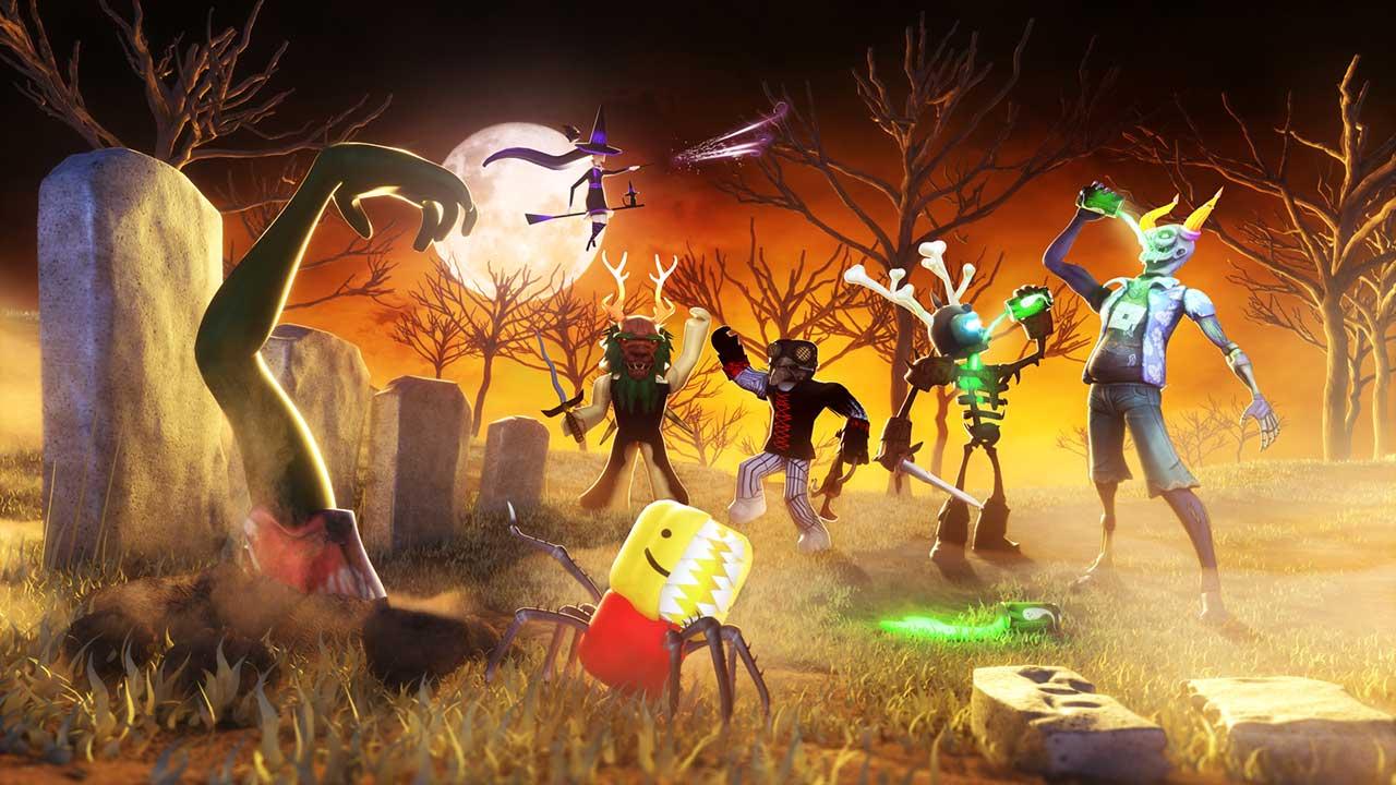 Roblox Halloween Games