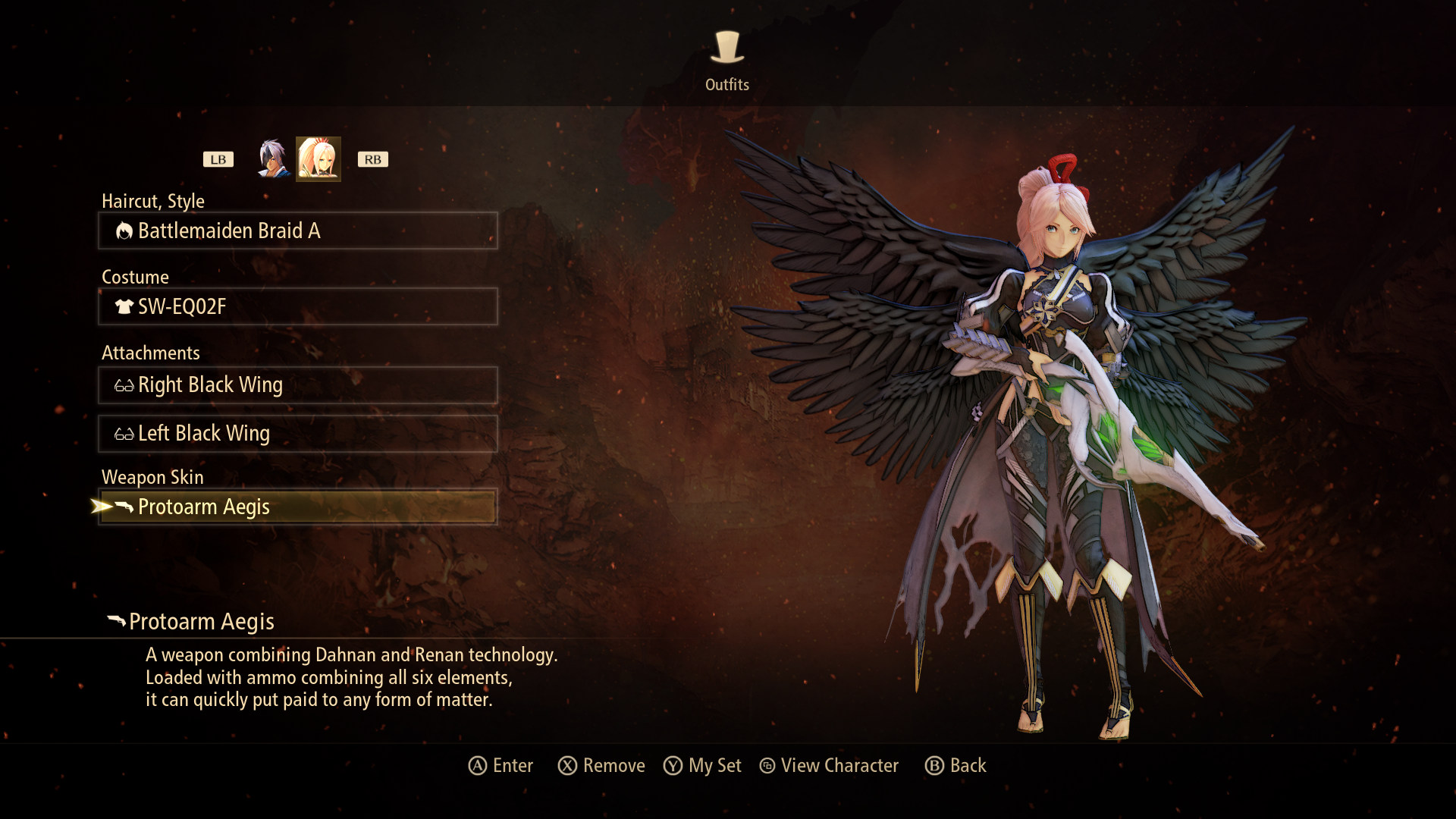 tales-of-arise-outfit-change-screen