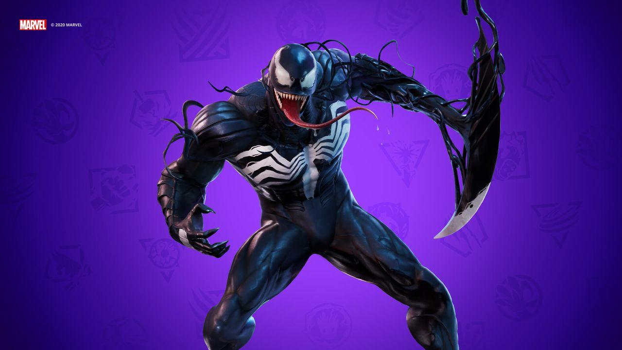 Venom's Fortnite Skin