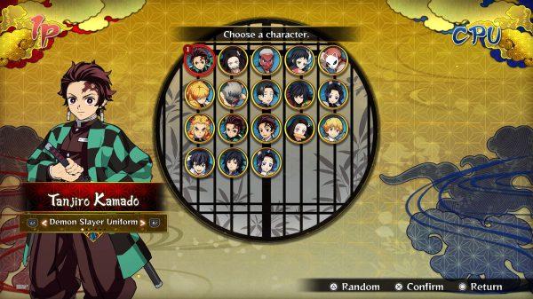 Demon Slayer -Kimetsu no Yaiba- The Hinokami Chronicles All Characters