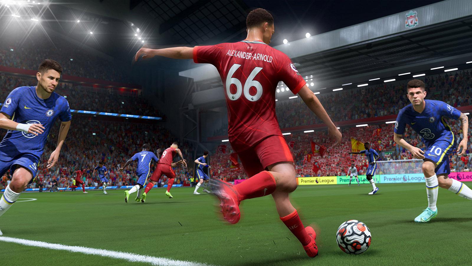 FIFA 22 Through Ball Pass