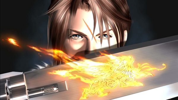 Squall in the Final Fantasy VIII Cover Image