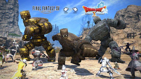 Final Fantasy XIV Breaking Brick Mountains Dragon Quest Event