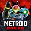 Samus on the cover of Metroid Dread