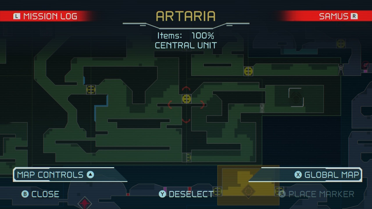Metroid-Dread-Artaria-Central-Unit-Location