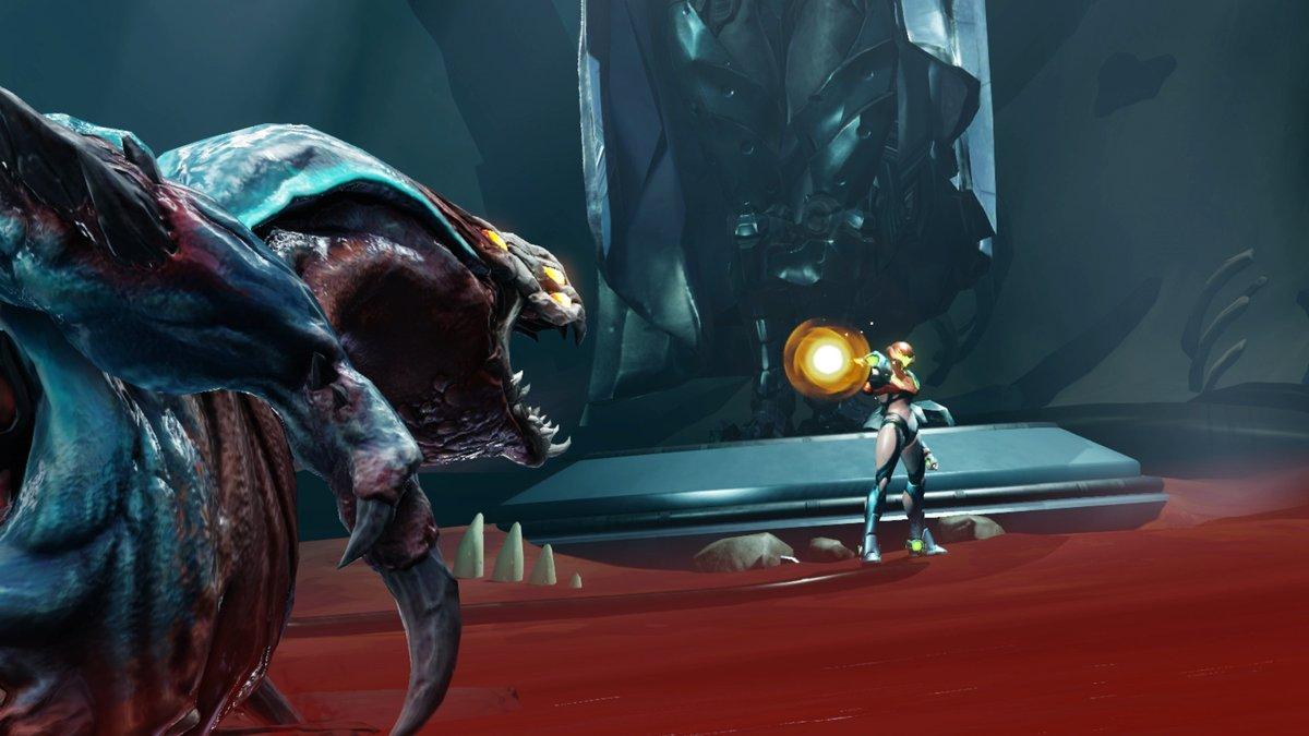 Metroid-Dread-Corpius-Defeat-Cutscene