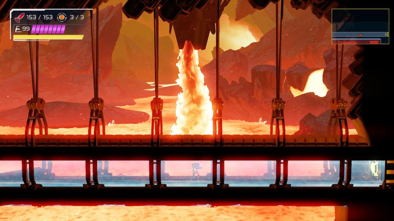 Metroid-Dread-Magma-Hallway