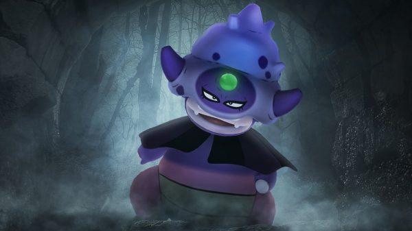 Galarian Slowking in Pokémon GO Halloween Event