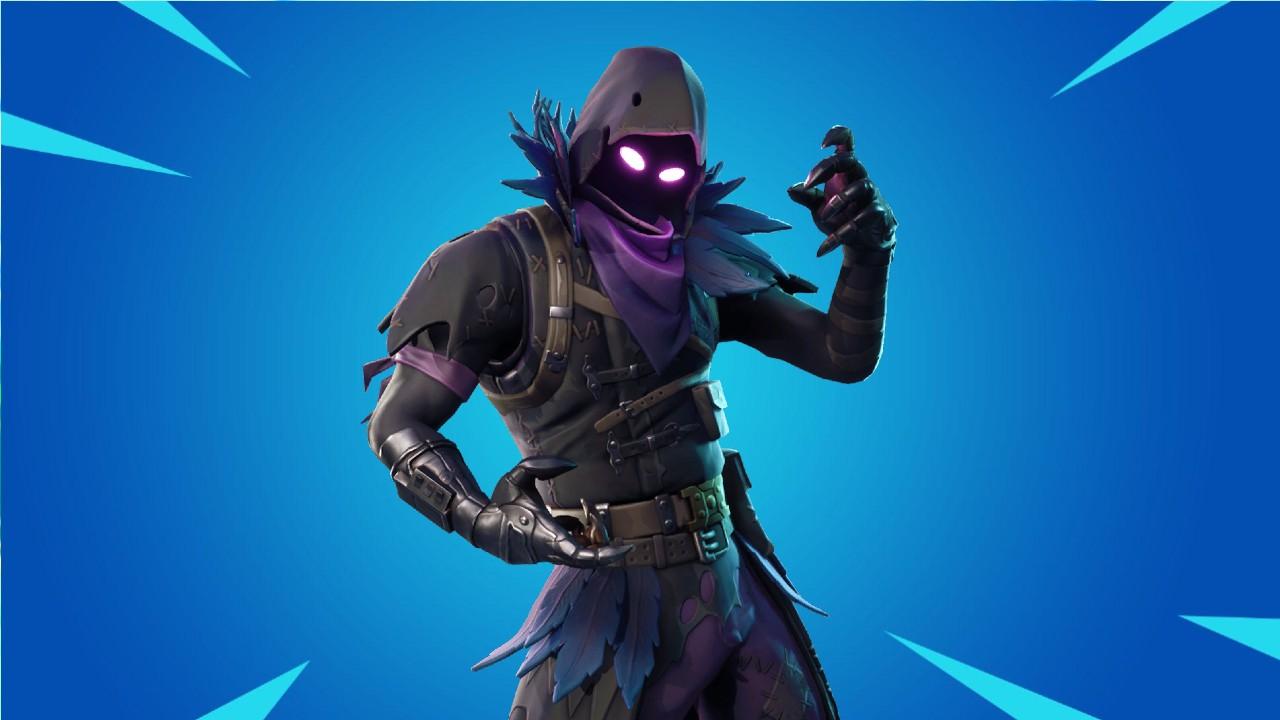 Raven from Fortnite