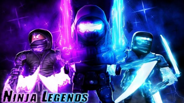 Ninja legends Roblox cover