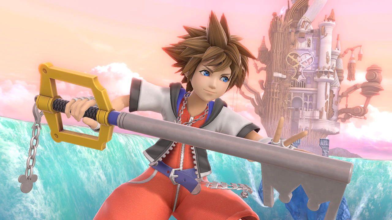 Sora in Super Smash Bros.
