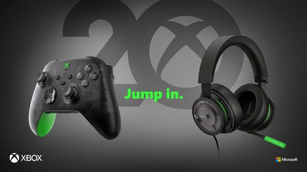 Xbox 20th Anniversary Controller and Headset