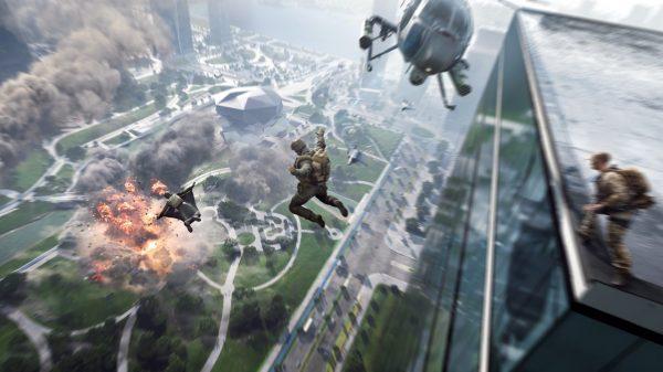Battlefield 2042 Open Beta cover