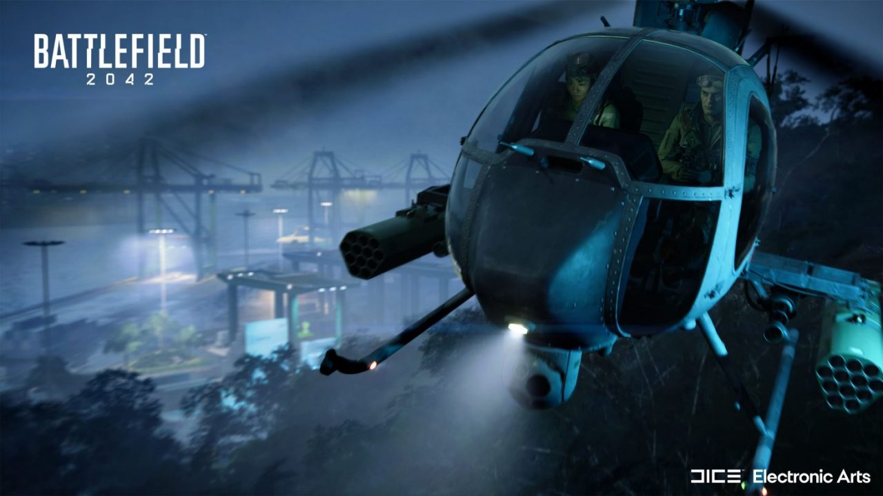 Battlefield 2042 helicopter controls