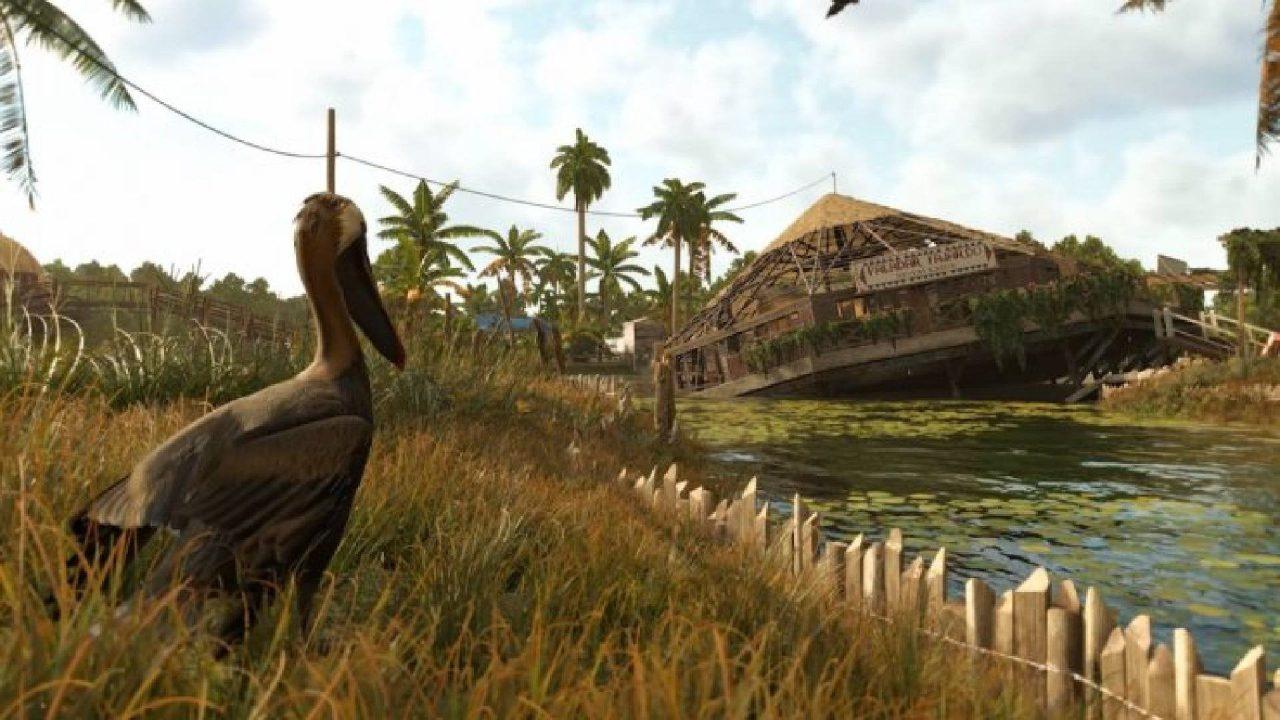 Far Cry 6 pelicans