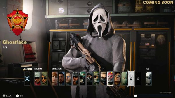 call of duty warzone ghostface